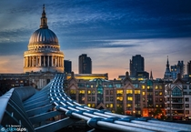 Downtown London UK  by Stefano Termanini