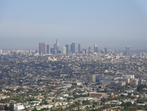 Downtown Los Angeles Viewed From The Griffith Observatory