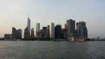 Downtown Manhattan from the Bay NYC