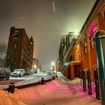 Downtown Marquette Michigan Nestled along Lake Superior