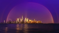 Downtown Rainbow - New York City