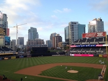 Downtown San Diego as viewed from Petco Park
