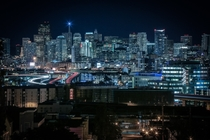 Downtown San Fran at Night by Louis Raphael