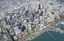 Downtown San Francisco in the near Future All buildings shown are either complete approved or under construction