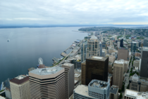 Downtown Seattle from the Tallest Building in Washington State