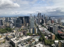 Downtown Seattle WA from the Space Needle