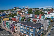 Downtown St Johns Newfoundland