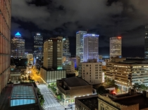 Downtown Tampa FL shot on my pixel  with night sight