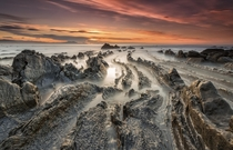 Dragons Crossroad Playa de Barrika in Pas Vasco Spain photographed by lvaro Prez Alonso and Jose Manuel Prez Alonso