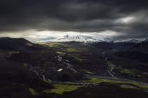 Dramatic morning at Mount St Helens