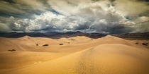 Dramatic Skies over Death Valley OC