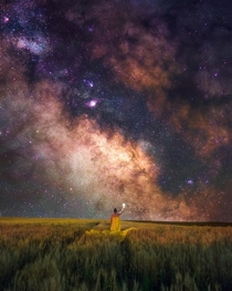 Dreaming under the Milky Way