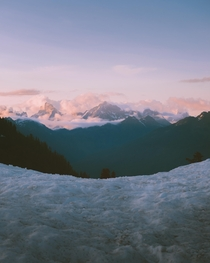 Dreamlike conditions in the North Cascades a few nights ago