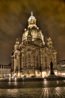 Dresden Frauenkirche Church of Our Lady Dresden Germany architect George Bhr
