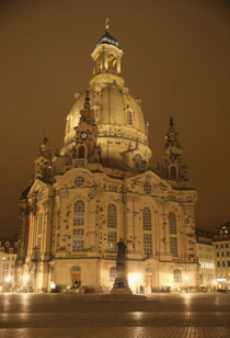Dresden Frauenkirche  The Church was originally built as a sign of the will of the citizens of Dresden to remain Protestant after their ruler had converted to Catholicism
