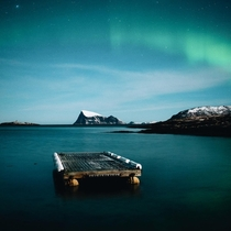 Drifting away in Kvalya Norway Taken by Eeva Mkinen
