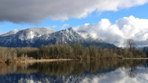 Driving back from snoqualmie WA and came across this Mountain -  -