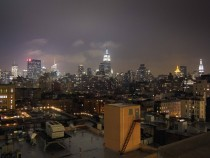 Drizzly night in NYC