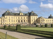 Drottningholm Palace home to Swedish King and Queen completed  architecture Nicodemus Tessin