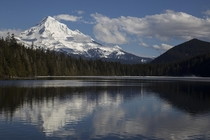 Drove out to Oregons Lost Lake today for a reflection-view of Mount Hood