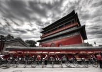 Drum Tower in Beijing China