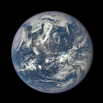 DSCOVR Returns Its First Full-Earth Image
