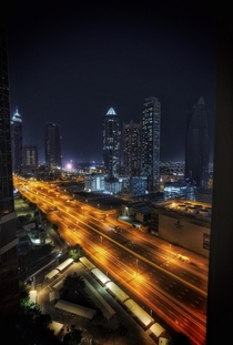 Dubai A city that once never slept today has empty streets throughout