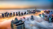 Dubai above the clouds  by Sajeesh Shanmughan  xpost rSomeoneTookAPicture