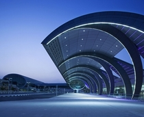 Dubai International Airport Terminal  designed by Aroports de Paris International