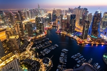 Dubai Marina - After Sunset