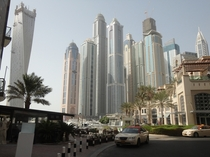 Dubai Marina home to  out of the top  tallest residential towers in the world