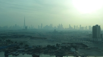 Dubai Skyline from moderately far away