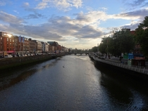 Dublin from Hapenny bridge