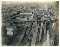 Dudley Street Station of the Boston Elevated Railway
