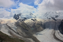 Dufourspitze and Nordend Switzerland taken by me while on vacation