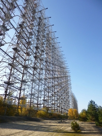 Duga- radar array Chernobyl AKA - Russian Woodpecker