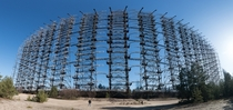 Duga  radar array Chernobyl Exclusion Zone Ukraine