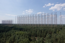 DUGA Radar Array near Chernobyl Ukraine