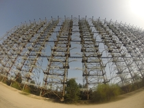Duga Radar - Former soviet over the horizon radar Near Pripyat Ukraine Shot on GoPro Hero