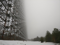 DUGA radar the russian woodpecker Chernobyl- secret military town