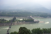 Dujiangyan irrigationflood control system built in BC during warring states period of China still in use