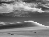 Dune in the Wind Eureka Valley Sand Dunes Death Valley NP