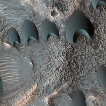 Dunes in North Arabia Terra one of the oldest terrain on Mars Credit NASA MRO HiRISE