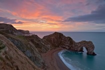Durdle Door in Dorset Great Britain