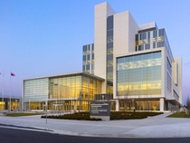 Durham Region court house Whitby ON by WZMH Architects