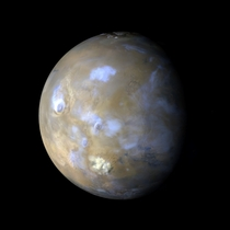 Dust storms and clouds on Mars