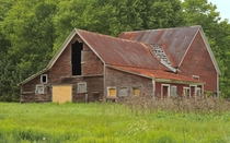 Dying Barn in Vermont