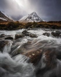 Dynamic conditions in the Scottish Highlands taken last month