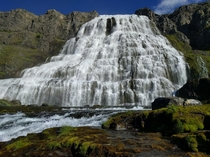 Dynjandi the Jewel of the Westfjords of Iceland