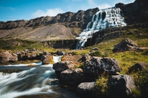 Dynjandi waterfall in the Westfjords of Iceland  - instagram jeremybarbet